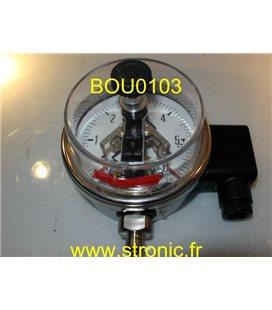 MANO 2.5 BAR M115 D20 B20 1.4571 Cl.2.0