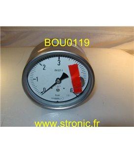 MANO 10 BAR MIT5 F30 B22  EN 837-1   1.0