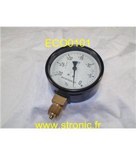 VACUOMETRE -30 .. 0  Hg
