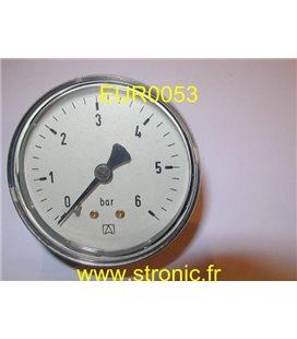 MANOMETRE  0-6 BAR   RF63 Cl  30163