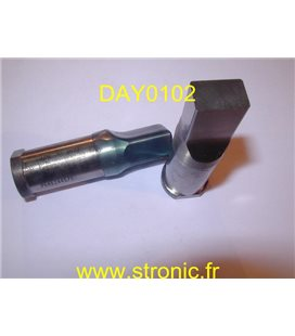 POINCON TETE CYLINDRIQUE RECT: 16.2 x 10.2