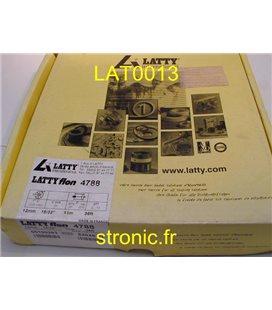 "GARNITURE D ETANCHEITE 12mm  15/32""   11M-36 ft   LATTYFLON 4788"