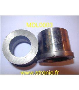 MATRICE RONDE A COLLERETTE   24.4 mm