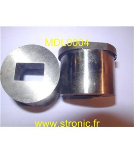 MATRICE RONDE A COLLERETTE   19.2 x 12.2 mm