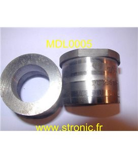 MATRICE RONDE A COLLERETTE m5  24.5 mm