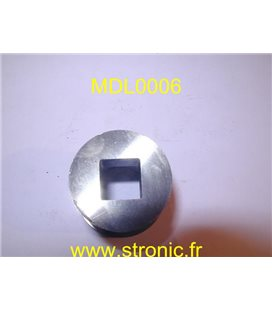 MATRICE RONDE A COLLERETTE   12.7 x 12.7 mm