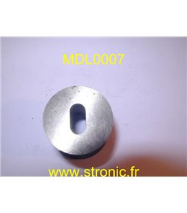 MATRICE RONDE A COLLERETTE   7.3 x 14 mm