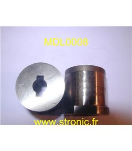 MATRICE RONDE A COLLERETTE   9.4 x 13.8 mm
