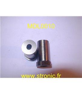 MATRICE RONDE A COLLERETTE h5  5.3 x 6.3 mm