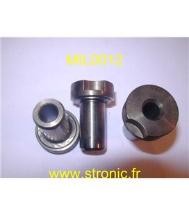 MATRICE RONDE A COLLERETTE m5  8.5 mm