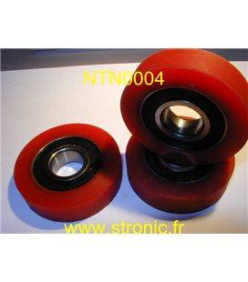 ROULEMENT 6204 LB+ BANDAGE RILSAN 64.7 mm