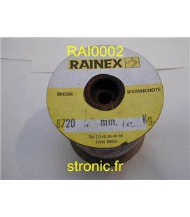 TRESSE D ETANCHEITE 4mm   40M   RAINAPHEN 8720