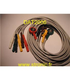 ECG CABLE ASSEMBLY 0012-00-0622-07