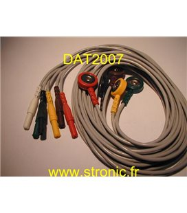 ECG CABLE ASSEMBLY 0012-00-0622-05