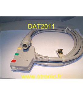 ECG PATIENT CABLE  0012-51-0006