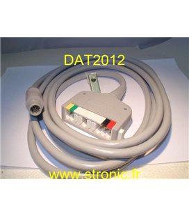 ECG PATIENT CABLE  0012-51-0002