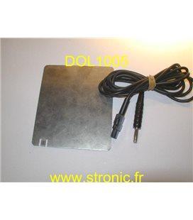 PLAQUE INDIFFERENTE + CORDON 5 mm POUR T100