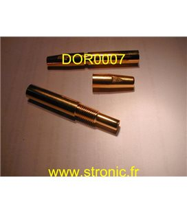 SUPPORT  PIPE CRYSTAL + CAP SCREW