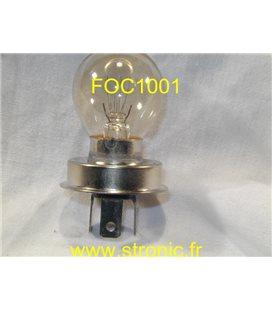LAMPE MICROSCOPE FOCUS  220V  20W