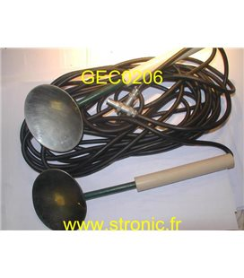 ELECTRODE DEFIBRILLATEUR  INTERNE ADULTE x2