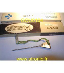 STYLET ENREGISTREUR ECG ELECTRIQUE ST 75C