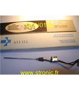 STYLET ENREGISTREUR ECG ELECTRIQUE ST 212C