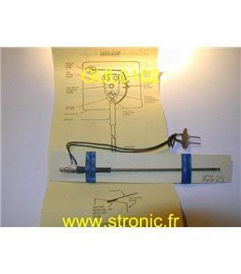 STYLET ENREGISTREUR ECG ELECTRIQUE ICS-25