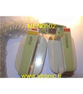 ELECTRODES EXT ADULTE CARDIOPACK 100