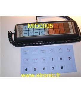 TELECOMMANDE CABLEE 002-0410-00