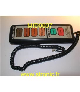 TELECOMMANDE CABLEE 002-0409-00