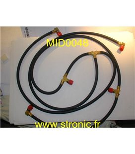RETURN HOSE KIT 002-0014-00