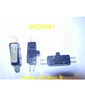 FOOT LIMIT SWITCH 02-0045-00