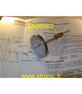 THERMOMETER ASSEMBLY 002-0242-00
