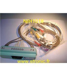 PROLONGATEUR CABLE ECG BR-913D