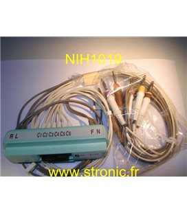 PROLONGATEUR CABLE ECG BR-912D