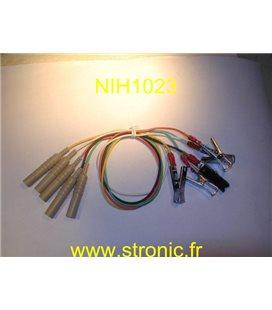 ELECTRODES A PINCE JEU DE 5 H0-72