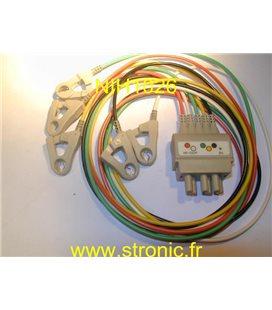 PROLONGATEUR CABLE ECG BR-020P