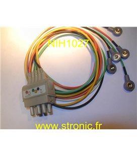 PROLONGATEUR CABLE ECG BR-021P