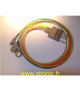 PROLONGATEUR CABLE ECG BR-016P