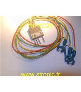 PROLONGATEUR CABLE ECG BR-002P