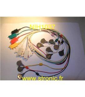 ELECTRODES A PINCE JEU DE BR-641 D