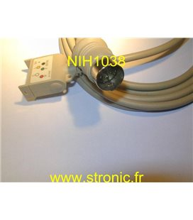 CABLE ECG JC 005 P