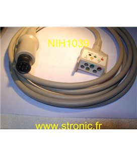 CABLE ECG JC-752 V
