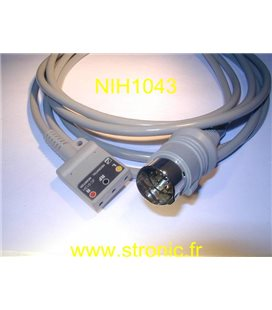CABLE ECG JC-012 H