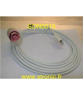 CABLE POUR PRESSION INTRATERINE 8400-6937