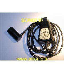 SONICAID TRANSDUCTEUR VASOSCAN 2 MHz