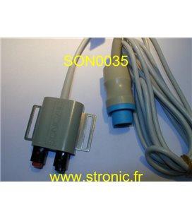SONICAID FECG LEG ELECTRODE 8400-6922