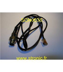 SONICAID MON-PROBE FLATTYPE  3090-6901
