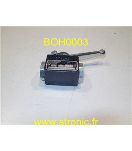 VANNE GAZ 2 VOIES BMG V100 706-1