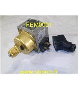 PRESSOSTAT 100 a 600 mBars  DCM 06